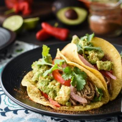 21 Day Fix Pulled Pork Tacos