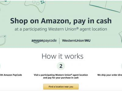 Amazon is bringing a cash-based checkout option, Amazon PayCode, to the U.S