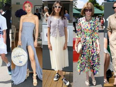 This Week's Best-Dressed Looks Were at Wimbledon