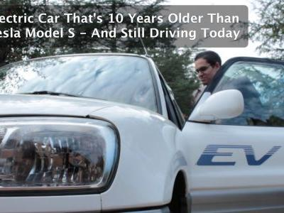 This Electric Car Is Ten Years Older Than The Oldest Production Tesla Model S - And Still Driving Today!