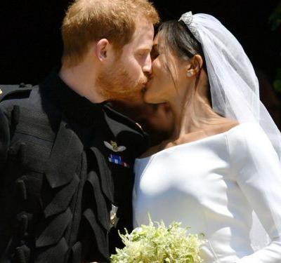 They Did It: Harry & Meghan Share First Royal Kiss