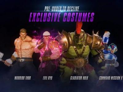 Marvel vs. Capcom Infinite Pre-Order Bonuses Revealed