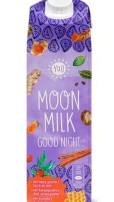 Moon Milk Watercolor Spices On Food Packaging