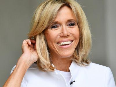Brigitte Macron Actually Likes When You Talk About Her Clothing