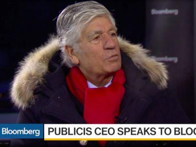 Maurice Lévy just gave a big hint about who his successor at Publicis will be