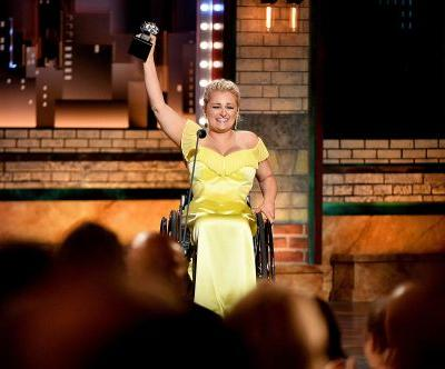 Ali Stroker makes Tony Awards history as first winner to use wheelchair