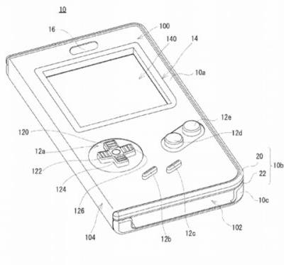 Nintendo patents a playable Game Boy-style shell for smart devices, may indicate plans for Game Boy game re-releases