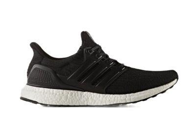 """The adidas UltraBOOST 3.0 Gets A """"Core Black"""" Makeover With New Heel Design"""