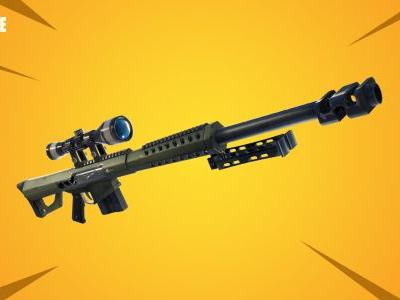 Fortnite v5.21 Patch Notes - New Heavy Sniper Rifle, Soaring 50's LTM