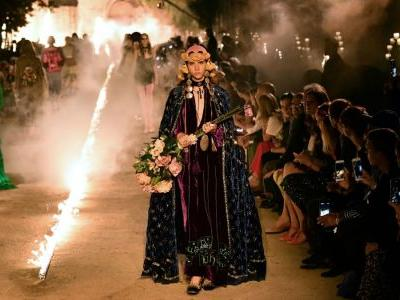 Gucci's Cruise 2019 Show Eerily Took Over a Roman Cemetery in Provence