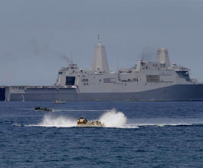 China accuses US of trespassing after warship sailed near disputed shoal