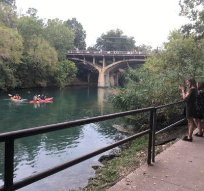 How to get to Barton Springs Pool during ACL Fest