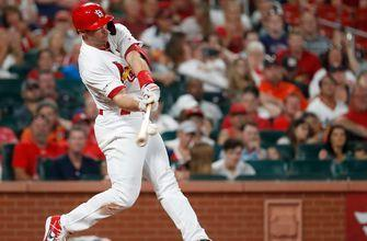 Goldschmidt homers in fifth straight game as Cardinals top Astros 5-2