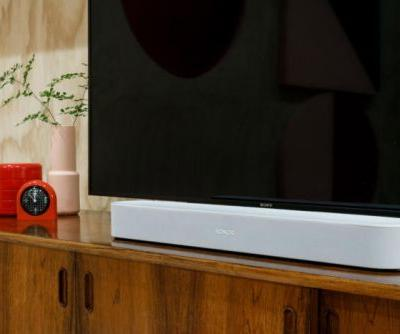 The Sonos Beam smart soundbar will support Amazon's Alexa and Apple's AirPlay 2 when it ships in July