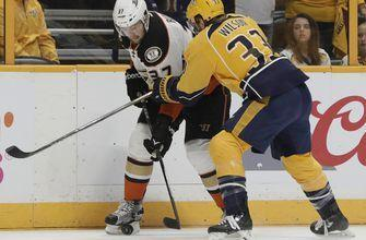 Ducks forward Nick Ritchie ejected in Game 6 vs. Predators