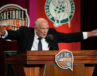 The Latest: Hoops Hall opens doors to point guards