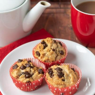 Wholemeal Chocolate Chip Muffins