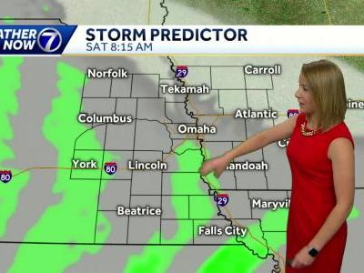 Rainy and cool this weekend, warmer air returns next week