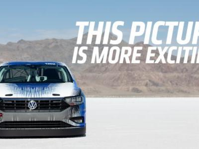 Volkswagen Manages to Make the Lamest Speed Record Video Ever