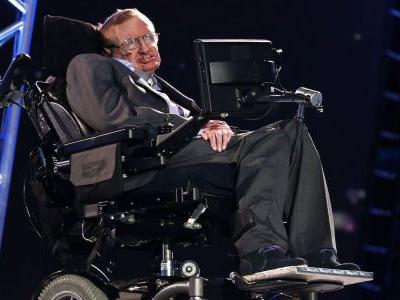 Stephen Hawking was rumored to run over the toes of people he didn't like with his wheelchair