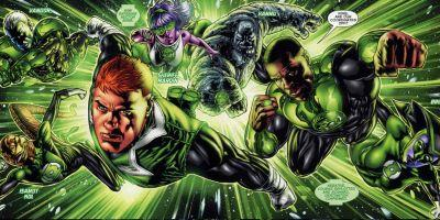 Green Lantern Corps Movie Finds Its Writers