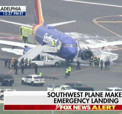 Southwest passenger says 'there is blood everywhere' after terrifying emergency landing