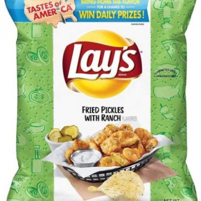 When Will Lay's Fried Pickles With Ranch Chips Be Restocked? It Could Be Soon