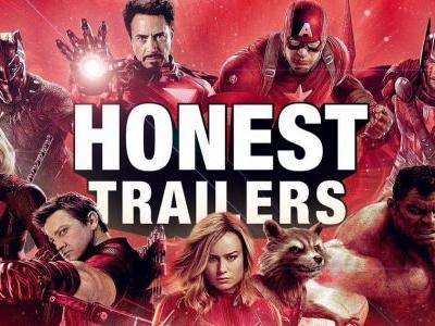 MCU Honest Trailer Takes on the Never-Ending Story of Marvel's Cinematic Universe