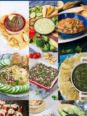 23 Healthy Dips for Entertaining & Snacking