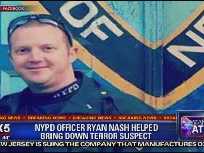 Officer who shot, apprehended NYC terror suspect identified