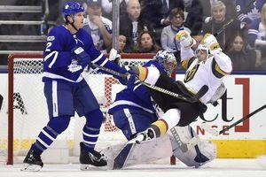Marner helps Maple Leafs top Golden Knights 4-3