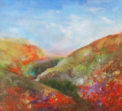 California Poppy Hills, by Carol Engles