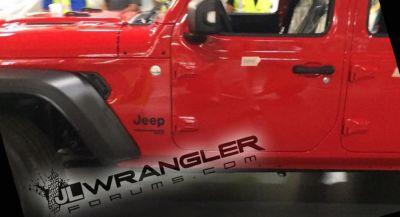 2018 Jeep Wrangler Unlimited Snapped On The Factory Floor