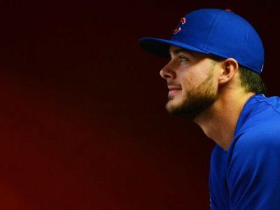 Cubs' Kris Bryant exits game after getting hit in head by 96 mph fastball
