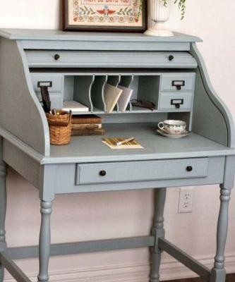 20 Awesome Small Secretary Desk with Hutch Pictures
