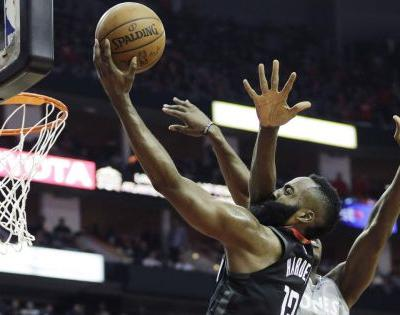 Harden, Rockets hold off Timberwolves in Game 1