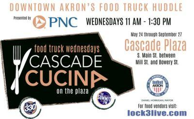 Akron Dish: Food Truck Wednesdays coming to downtown Akron; Crave Cantina opens in Falls; Piada partners with LeBron James Foundation; tastings and events