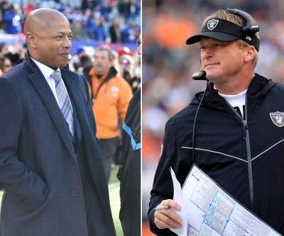 Jerry Reese wants nothing to do with Raiders and Jon Gruden