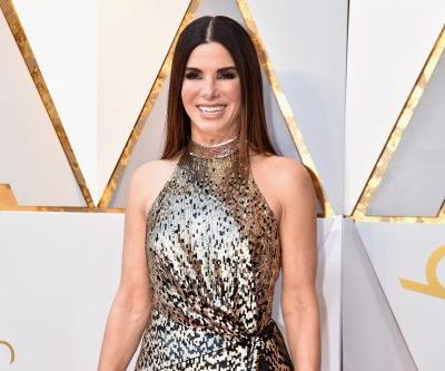 """Sandra Bullock Presented at the Oscars in the Dark So She Could """"Go Back to My 40s"""""""