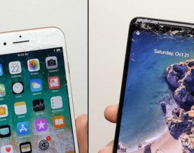 Pixel 2 XL, iPhone 8 Plus drop tests push glass to the limits