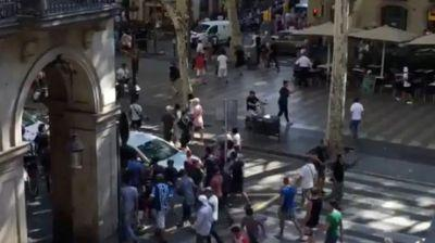 First footage of Barcelona terrorist attack aftermath
