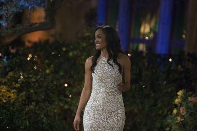 Rachel Lindsay Is a Total Knockout in Her Designer Couture Gown During 'The Bachelorette' Season Premiere