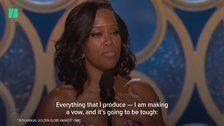 Regina King's 'Time's Up' Call To Action