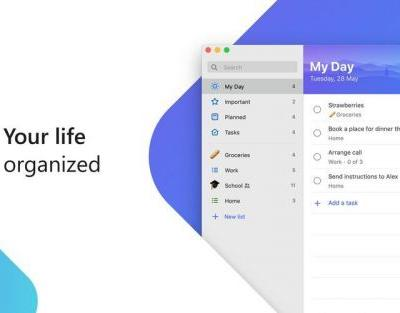 Microsoft To-Do now available for Mac