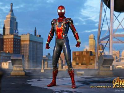 Spider-Man PS4's Iron Spider Suit Revealed in New Trailer