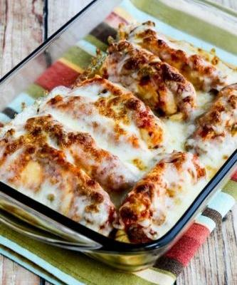 Instant Pot Salsa Chicken with Lime and Melted Mozzarella