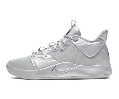 """The Nike PG 3 """"NASA 50th"""" Is Landing in Reflective Silver Hues"""