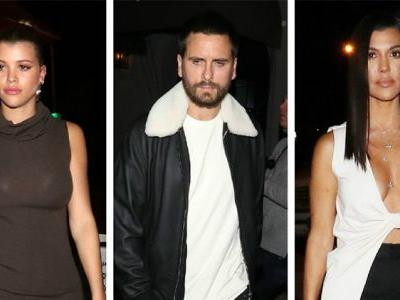 Kourtney Kardashian, Scott Disick, And Sofia Richie Go On A Mexican Vacay And We're Like WTF?