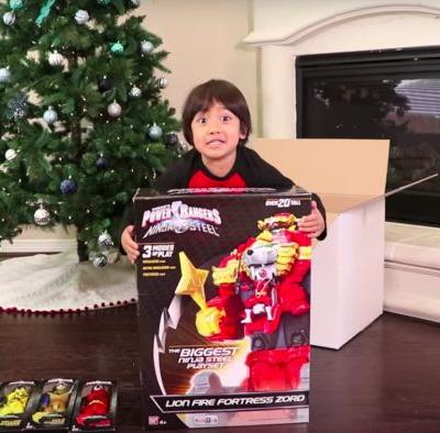 This six-year-old made $11 million by reviewing toys on YouTube