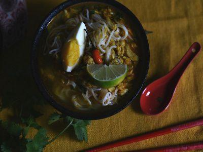 Mohinga - Recipe for Burmese Fish Noodle Soup